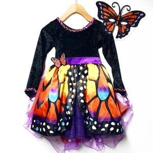 Halloween FAIRY DUST Butterfly Dress